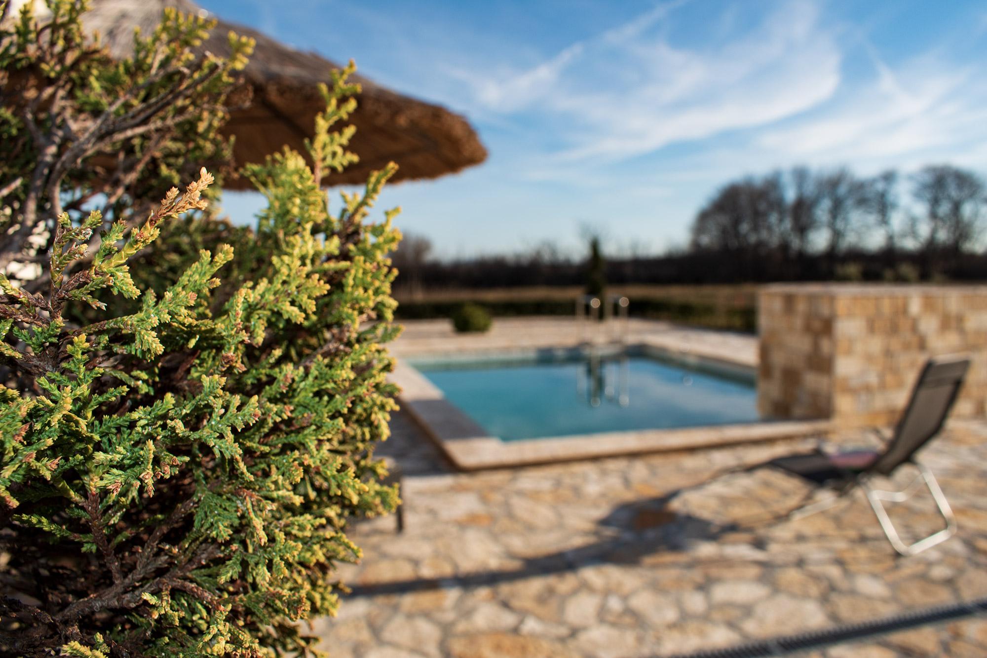 AP Villa Pristeg - Pool and garden